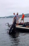Somehow, I suspect  this boat didn't have much flotation foam.