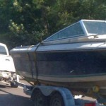 Launching's a breeze when you carry your boat like this!