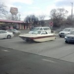 Repeat! Do not make your boat into a car.