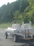 Come on people... how many times do we need to tell you not to make yor boat into a car. Unless you want to look like an idiot with too much money and time on his hands.