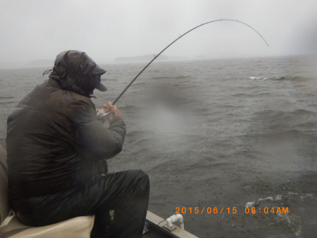 And that my friends is why we buy rain gear richz 39 s for Bass fishing rain gear